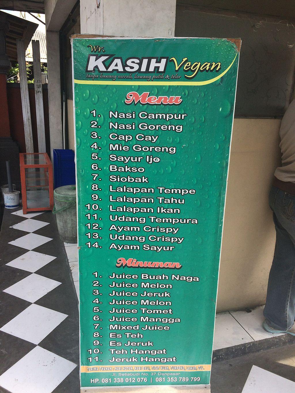 "Photo of Kasih Vegan  by <a href=""/members/profile/Mitjacinda"">Mitjacinda</a> <br/>menu  <br/> July 25, 2017  - <a href='/contact/abuse/image/95426/284509'>Report</a>"