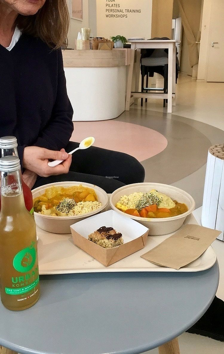 """Photo of Alive  by <a href=""""/members/profile/healthie.veggie"""">healthie.veggie</a> <br/>Buddha bowl, vrookie and kombucha <br/> March 21, 2018  - <a href='/contact/abuse/image/95449/373994'>Report</a>"""