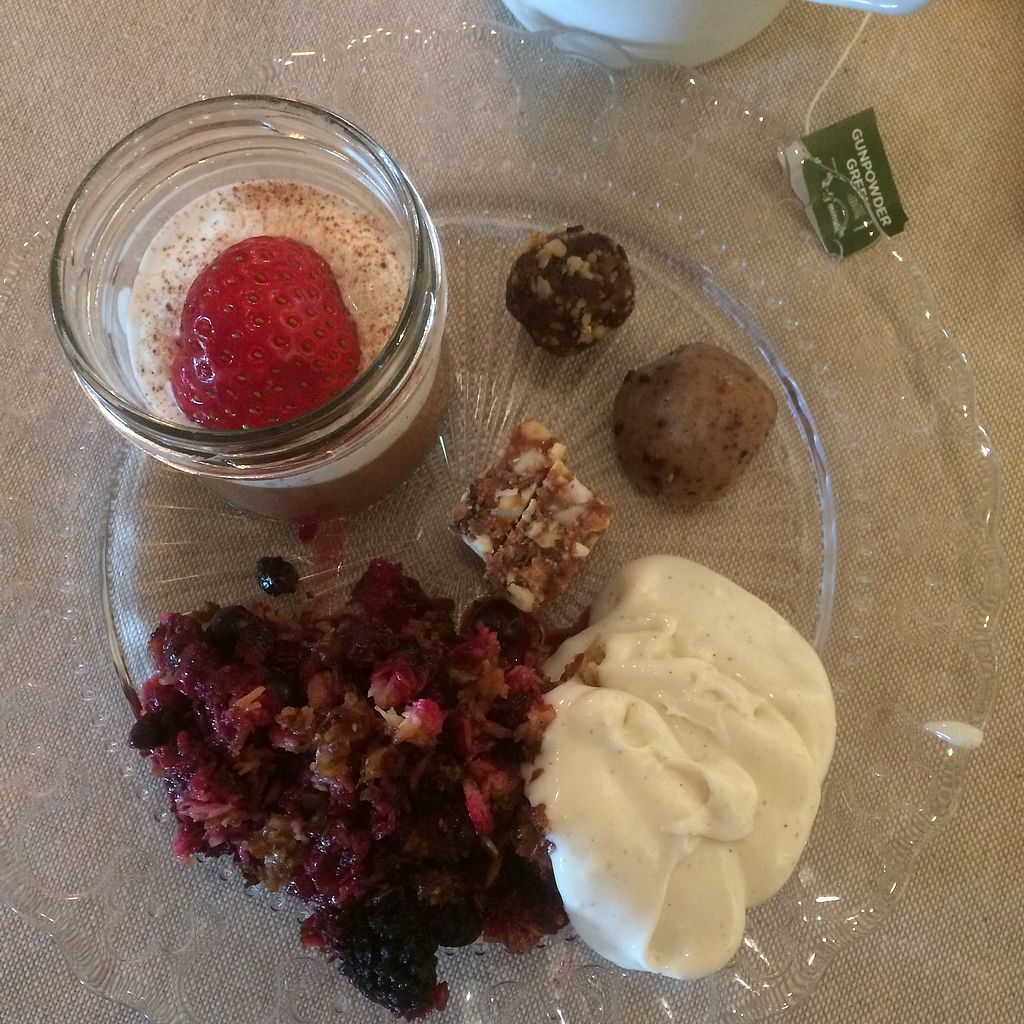 "Photo of Anita på Börringekloster  by <a href=""/members/profile/Cammiesen"">Cammiesen</a> <br/>Some of the vegan desserts  <br/> July 21, 2017  - <a href='/contact/abuse/image/95451/282741'>Report</a>"