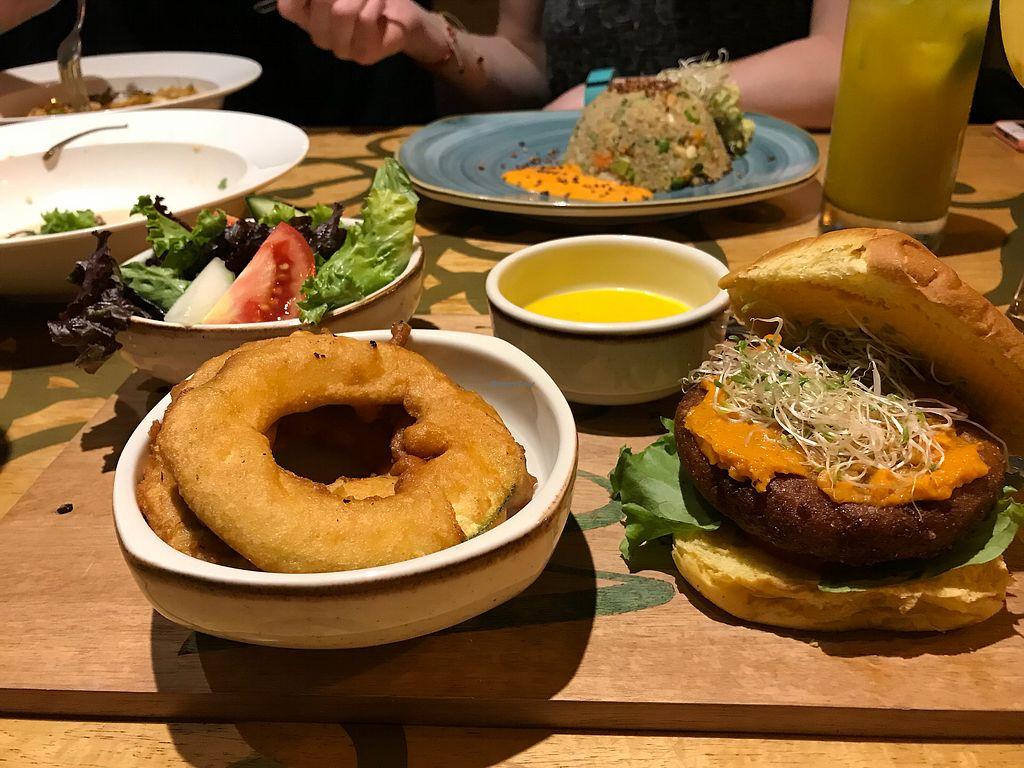 "Photo of Veda Restaurante  by <a href=""/members/profile/PaigeBuda"">PaigeBuda</a> <br/>Quinoa burger <br/> April 17, 2018  - <a href='/contact/abuse/image/95473/386981'>Report</a>"