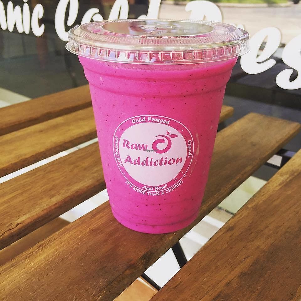 "Photo of Raw Addiction  by <a href=""/members/profile/rawaddiction"">rawaddiction</a> <br/>Dragon Berry Smoothies <br/> July 5, 2017  - <a href='/contact/abuse/image/95487/276931'>Report</a>"