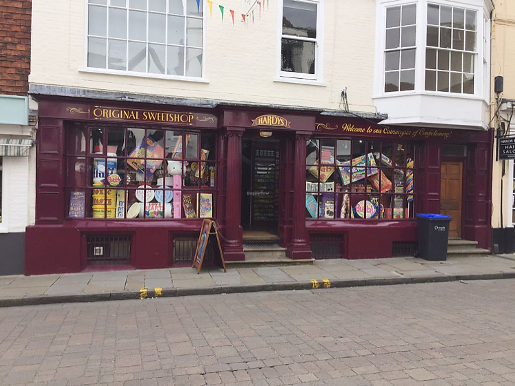 "Photo of Hardy's Original Sweet Shop  by <a href=""/members/profile/HannahHinton"">HannahHinton</a> <br/>shop front <br/> July 9, 2017  - <a href='/contact/abuse/image/95512/278146'>Report</a>"