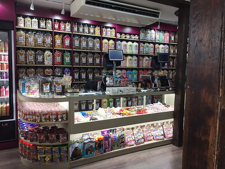 "Photo of Hardy's Original Sweet Shop  by <a href=""/members/profile/HannahHinton"">HannahHinton</a> <br/>so many jars! <br/> July 9, 2017  - <a href='/contact/abuse/image/95512/278147'>Report</a>"