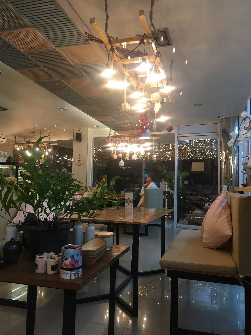 "Photo of Hua Hin Vegan Cafe and Wine  by <a href=""/members/profile/Charliemcleanash"">Charliemcleanash</a> <br/>The beautiful interior <br/> July 15, 2017  - <a href='/contact/abuse/image/95513/280476'>Report</a>"