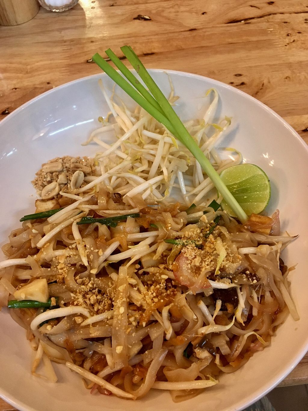 "Photo of Hua Hin Vegan Cafe and Wine  by <a href=""/members/profile/Charliemcleanash"">Charliemcleanash</a> <br/>Pad thai <br/> July 15, 2017  - <a href='/contact/abuse/image/95513/280477'>Report</a>"