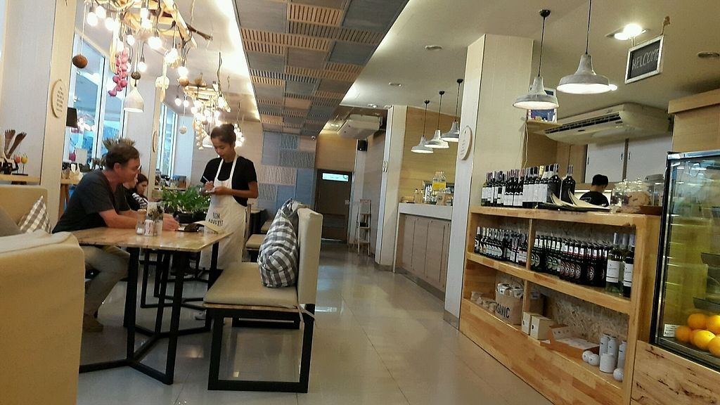 "Photo of Hua Hin Vegan Cafe and Wine  by <a href=""/members/profile/baz269"">baz269</a> <br/>interior of cafe <br/> September 11, 2017  - <a href='/contact/abuse/image/95513/303266'>Report</a>"