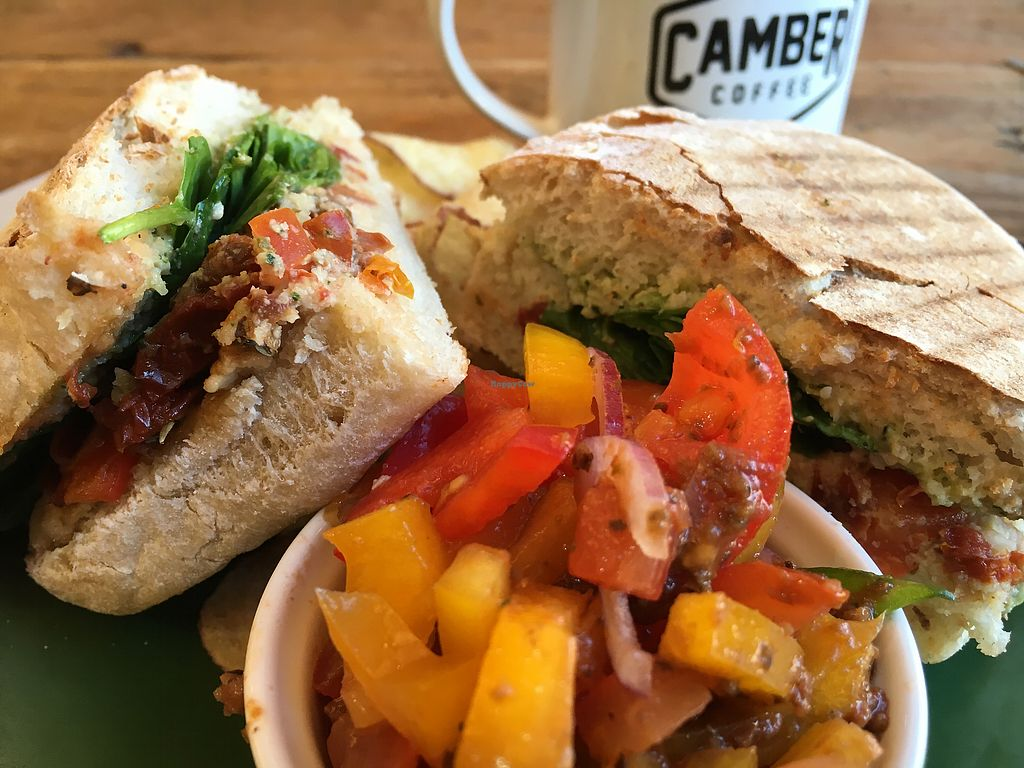 """Photo of Camber Coffee  by <a href=""""/members/profile/hack_man"""">hack_man</a> <br/>The Italian panini  <br/> December 28, 2017  - <a href='/contact/abuse/image/95521/339944'>Report</a>"""