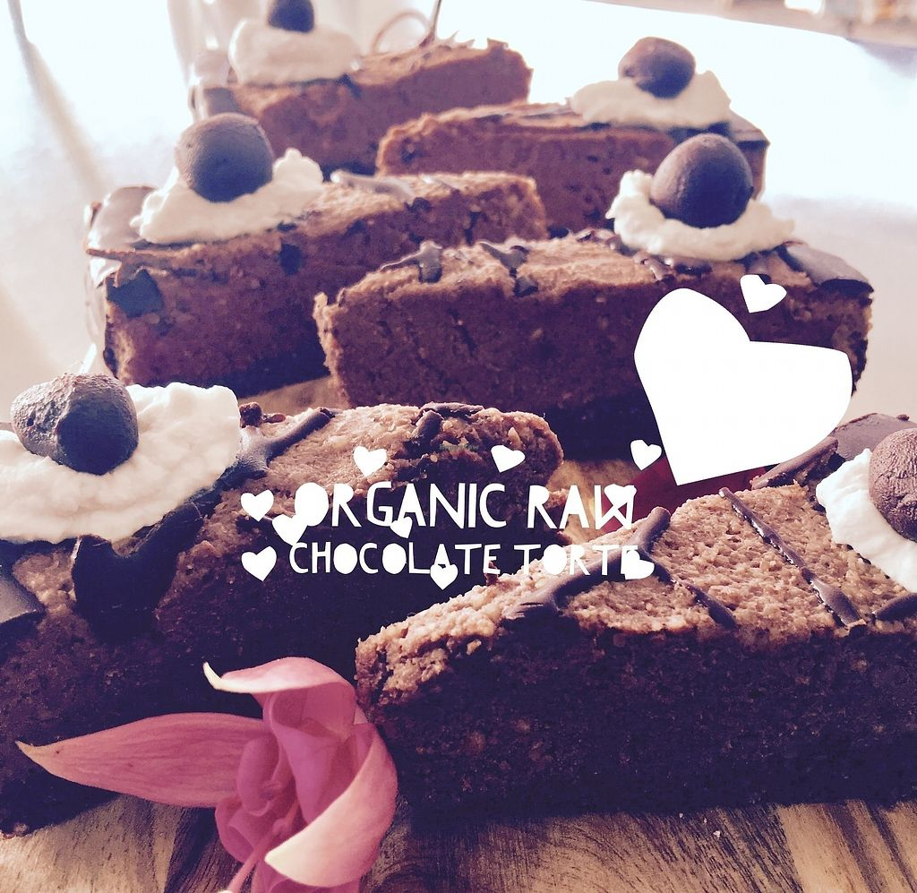 """Photo of Herbivore Kind Kitchen  by <a href=""""/members/profile/IsharaAhimsaLove"""">IsharaAhimsaLove</a> <br/>Raw Chocolate Torte <br/> July 8, 2017  - <a href='/contact/abuse/image/95523/277712'>Report</a>"""