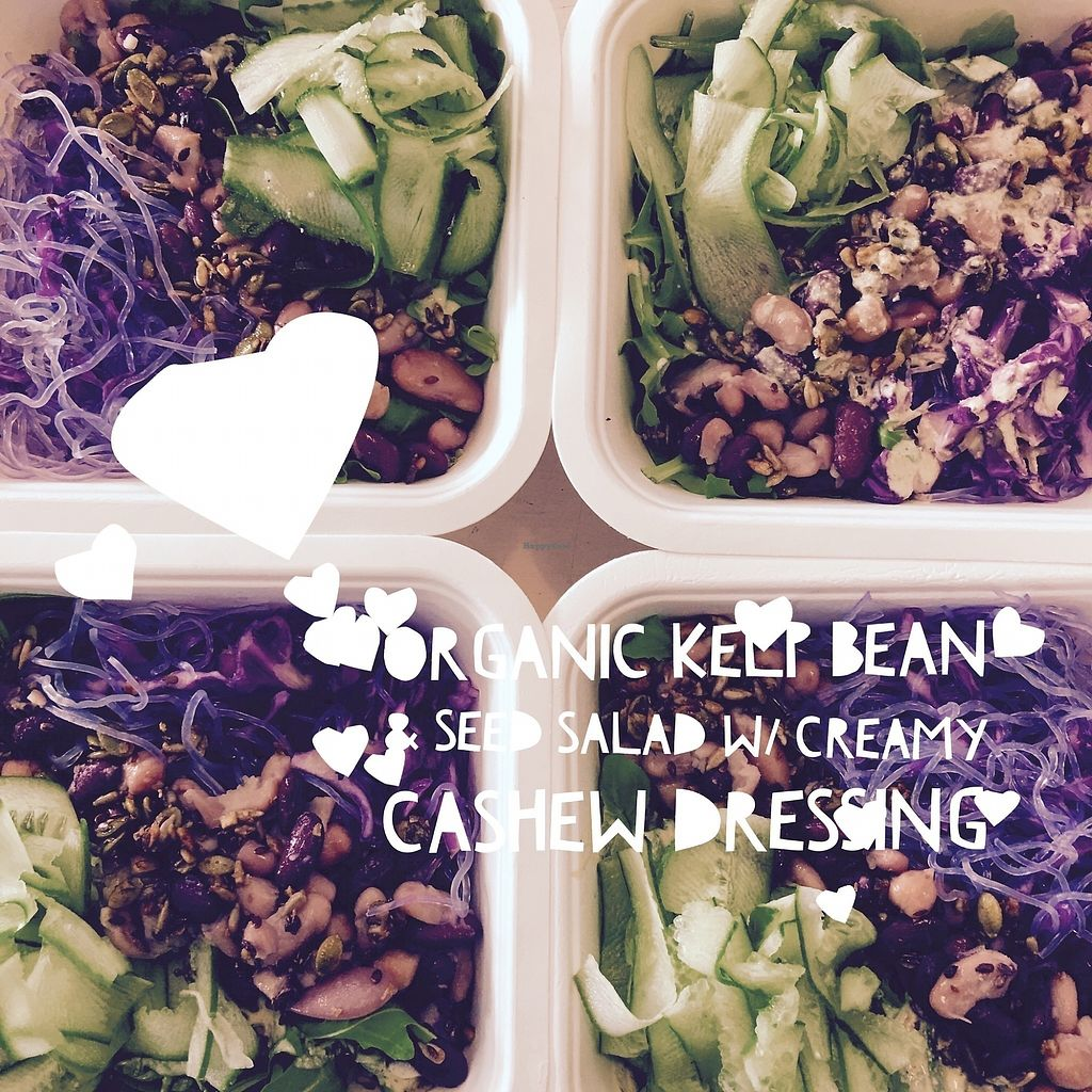 """Photo of Herbivore Kind Kitchen  by <a href=""""/members/profile/IsharaAhimsaLove"""">IsharaAhimsaLove</a> <br/>Organic Salad <br/> July 8, 2017  - <a href='/contact/abuse/image/95523/277716'>Report</a>"""