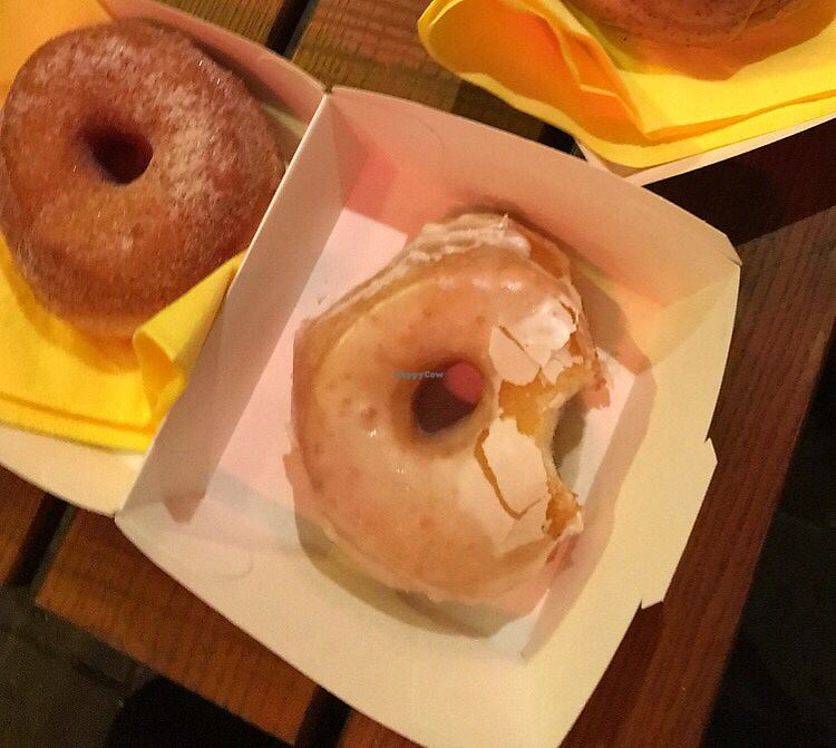 """Photo of Fryd  by <a href=""""/members/profile/kakestro"""">kakestro</a> <br/>cinnamon sugar and glazed donut from Halloween event 2016 <br/> July 8, 2017  - <a href='/contact/abuse/image/95527/277904'>Report</a>"""