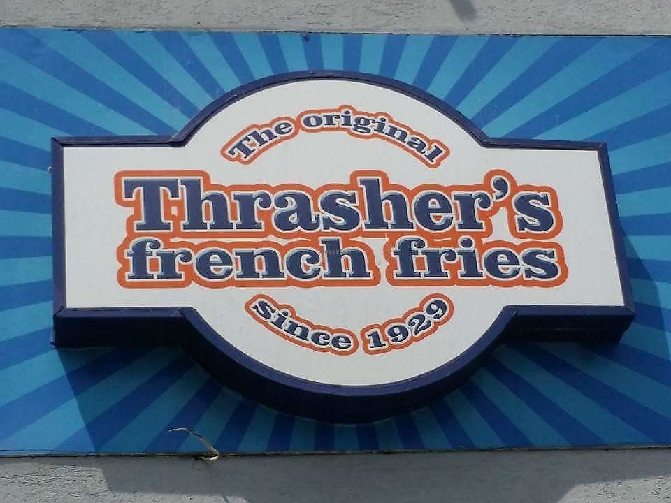 "Photo of Thrasher's French Fries  by <a href=""/members/profile/debbiesmall"">debbiesmall</a> <br/>Delicious  <br/> July 6, 2017  - <a href='/contact/abuse/image/95537/277268'>Report</a>"
