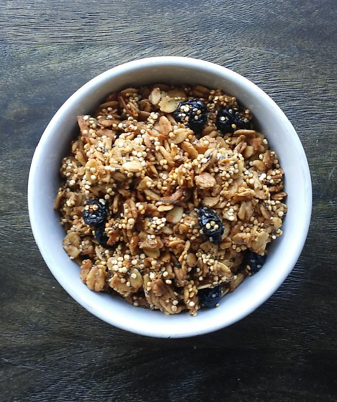 """Photo of Wicked Fitness Healthy Kitchen  by <a href=""""/members/profile/ChristyBarnesSeagle"""">ChristyBarnesSeagle</a> <br/>Blueberry Chia Granola <br/> July 16, 2017  - <a href='/contact/abuse/image/95561/280986'>Report</a>"""