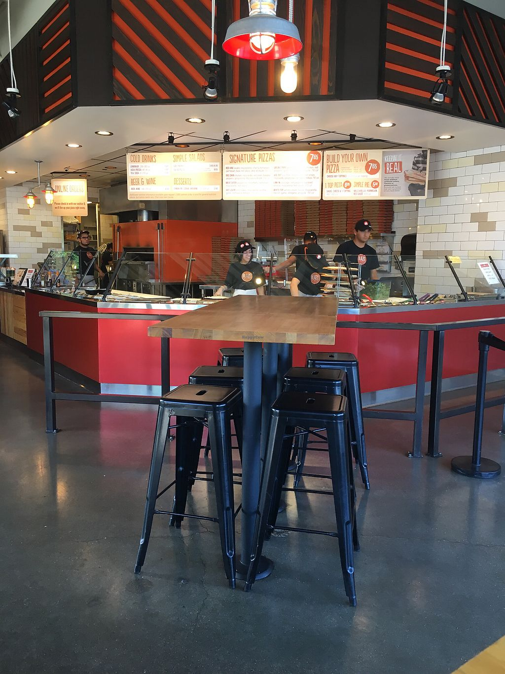 """Photo of Blaze Pizza  by <a href=""""/members/profile/teaisfortia"""">teaisfortia</a> <br/>Atmosphere <br/> July 10, 2017  - <a href='/contact/abuse/image/95592/278538'>Report</a>"""