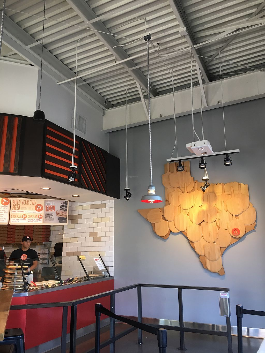 """Photo of Blaze Pizza  by <a href=""""/members/profile/teaisfortia"""">teaisfortia</a> <br/>Cute decorations <br/> July 10, 2017  - <a href='/contact/abuse/image/95592/278539'>Report</a>"""