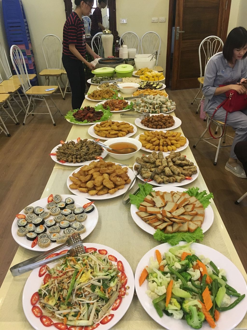 """Photo of Loving Hut - Hoa Binh  by <a href=""""/members/profile/Laura199x"""">Laura199x</a> <br/>buffet <br/> July 8, 2017  - <a href='/contact/abuse/image/95604/277824'>Report</a>"""
