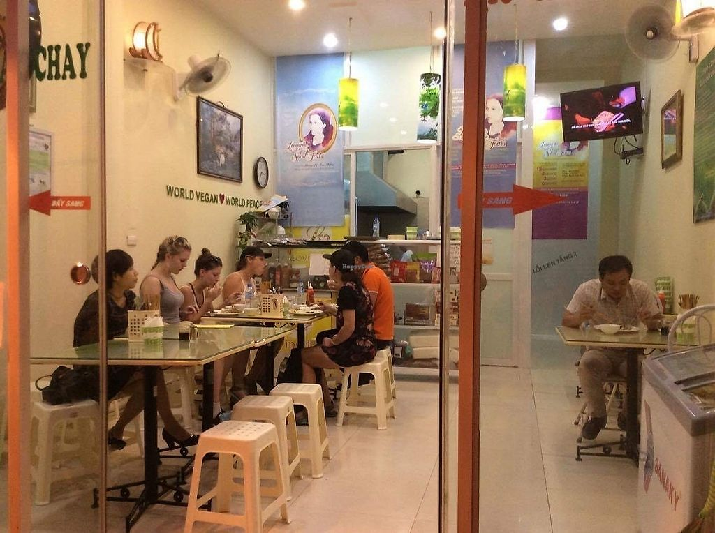 """Photo of Loving Hut - Hoa Binh  by <a href=""""/members/profile/Laura199x"""">Laura199x</a> <br/>Vegan cuisine <br/> September 15, 2017  - <a href='/contact/abuse/image/95604/304615'>Report</a>"""