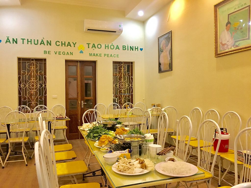 """Photo of Loving Hut - Hoa Binh  by <a href=""""/members/profile/Laura199x"""">Laura199x</a> <br/>Vegan Thai Hot pot , For Birthday <br/> September 15, 2017  - <a href='/contact/abuse/image/95604/304616'>Report</a>"""