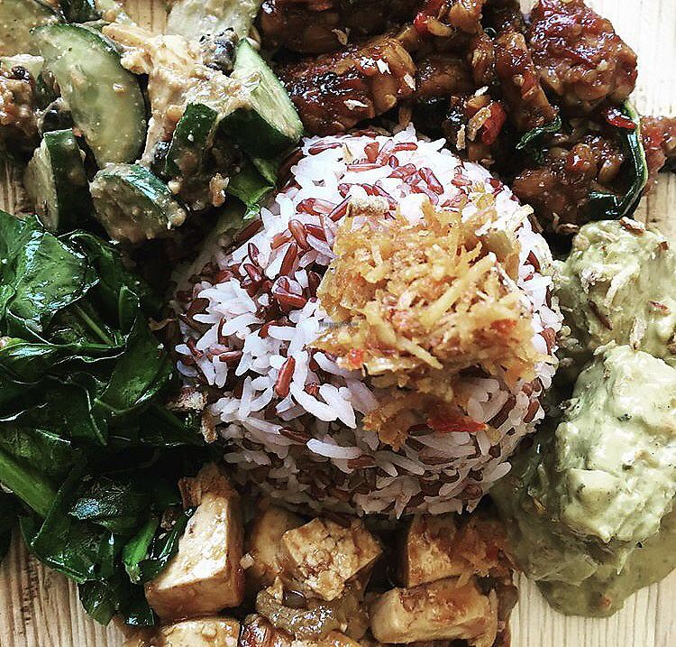 """Photo of Balinese Spice Magic  by <a href=""""/members/profile/SharriLembryk"""">SharriLembryk</a> <br/>Mix plate  <br/> February 3, 2018  - <a href='/contact/abuse/image/95609/354199'>Report</a>"""