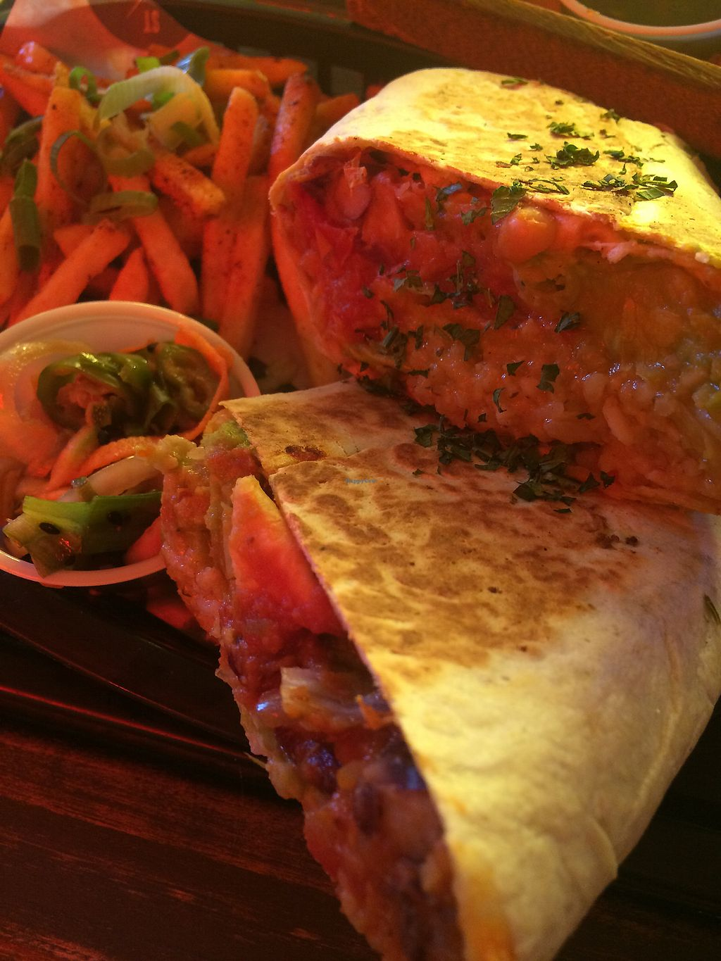 """Photo of STREET Tarporley  by <a href=""""/members/profile/Aj88"""">Aj88</a> <br/>Ban burrito which was amazing! <br/> November 15, 2017  - <a href='/contact/abuse/image/95617/325919'>Report</a>"""