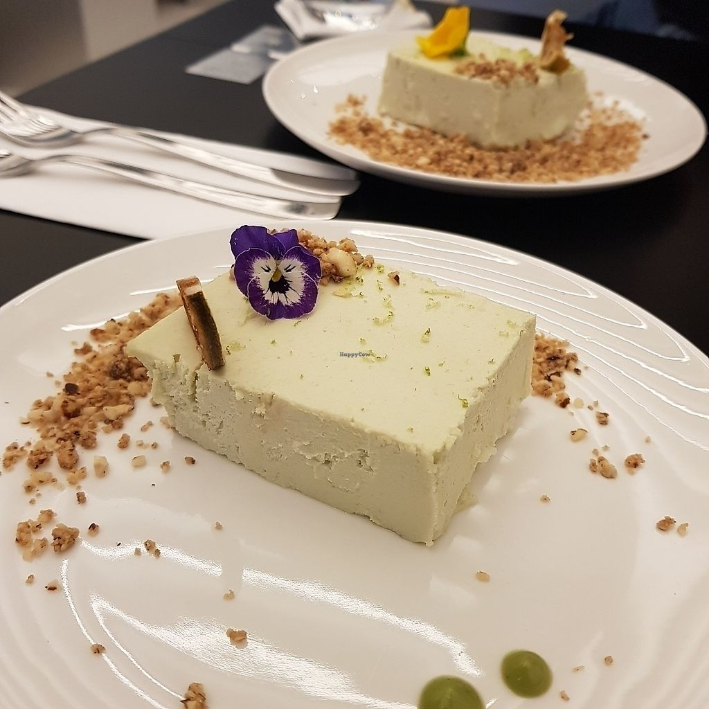 "Photo of Essence Cuisine  by <a href=""/members/profile/Sassyvegan"">Sassyvegan</a> <br/>Lime cheesecake  <br/> August 12, 2017  - <a href='/contact/abuse/image/95639/291946'>Report</a>"