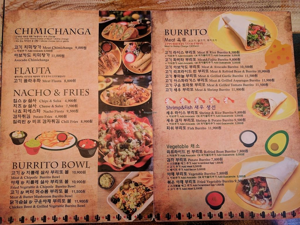 "Photo of Dos Tacos - Gwanak  by <a href=""/members/profile/PhillipPark"">PhillipPark</a> <br/>menu 2 <br/> July 10, 2017  - <a href='/contact/abuse/image/95674/278917'>Report</a>"