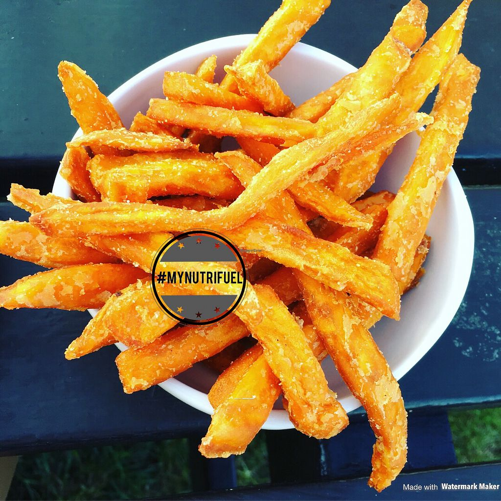 """Photo of Harvester  by <a href=""""/members/profile/MyNutriFuel"""">MyNutriFuel</a> <br/>Sweet potato fries #mynutrifuel <br/> July 21, 2017  - <a href='/contact/abuse/image/95676/283007'>Report</a>"""