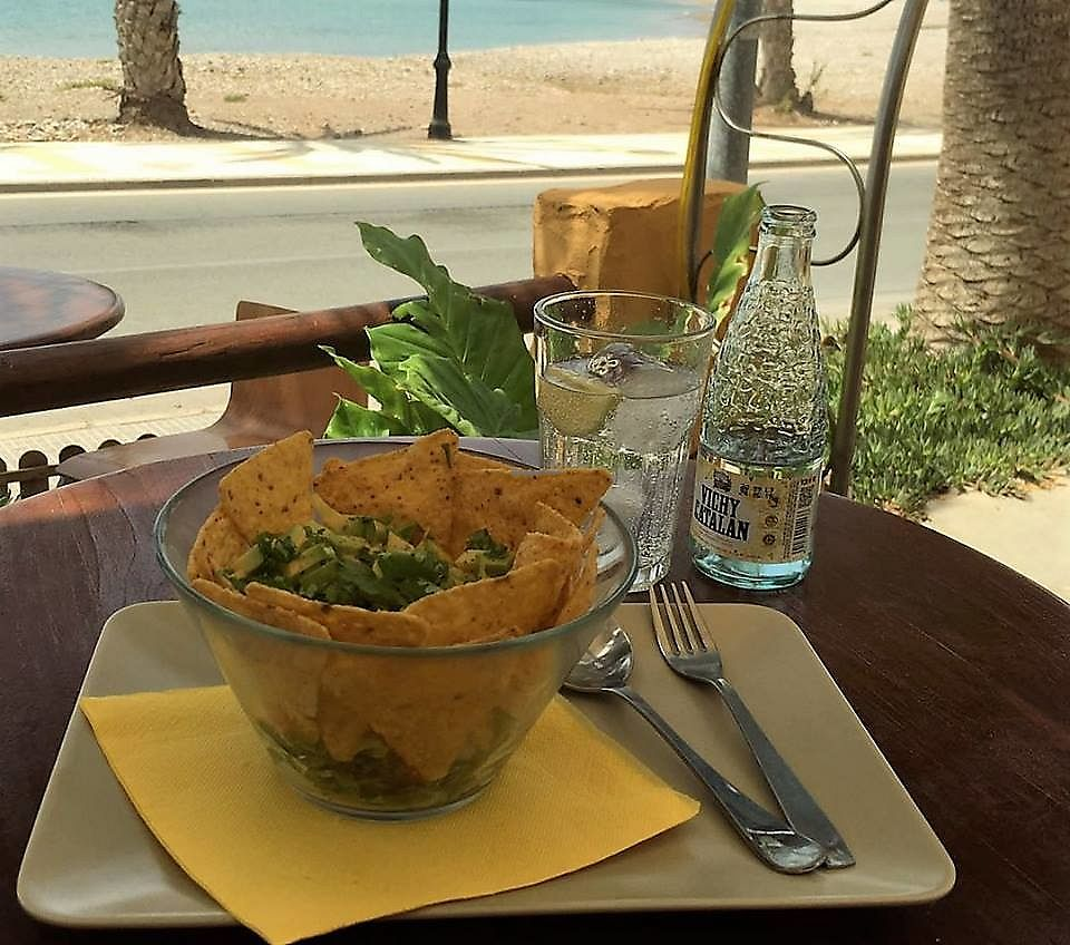"""Photo of Terraza del Mar  by <a href=""""/members/profile/community5"""">community5</a> <br/>Guacamole Salad <br/> July 17, 2017  - <a href='/contact/abuse/image/95683/281377'>Report</a>"""