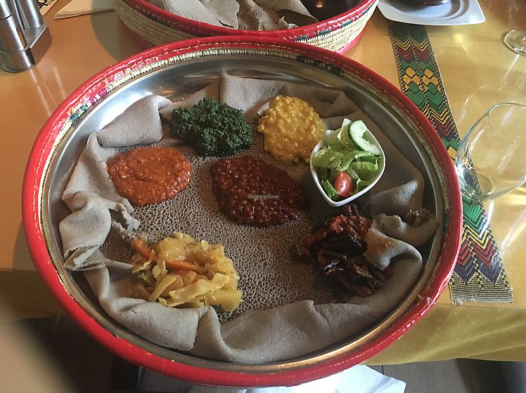 "Photo of Lalibela   by <a href=""/members/profile/veganmom"">veganmom</a> <br/>5 stew dish <br/> August 7, 2017  - <a href='/contact/abuse/image/95688/290145'>Report</a>"