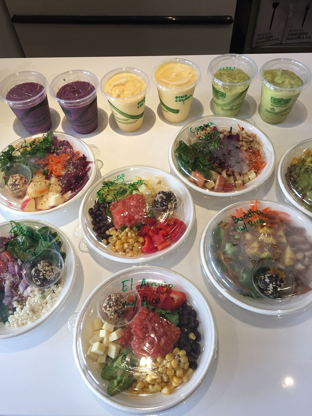 """Photo of The Pulp  by <a href=""""/members/profile/TrenaHough"""">TrenaHough</a> <br/>Serving delicious rice and quinoa bowl, smoothies and  cold pressed juice <br/> July 10, 2017  - <a href='/contact/abuse/image/95700/278487'>Report</a>"""