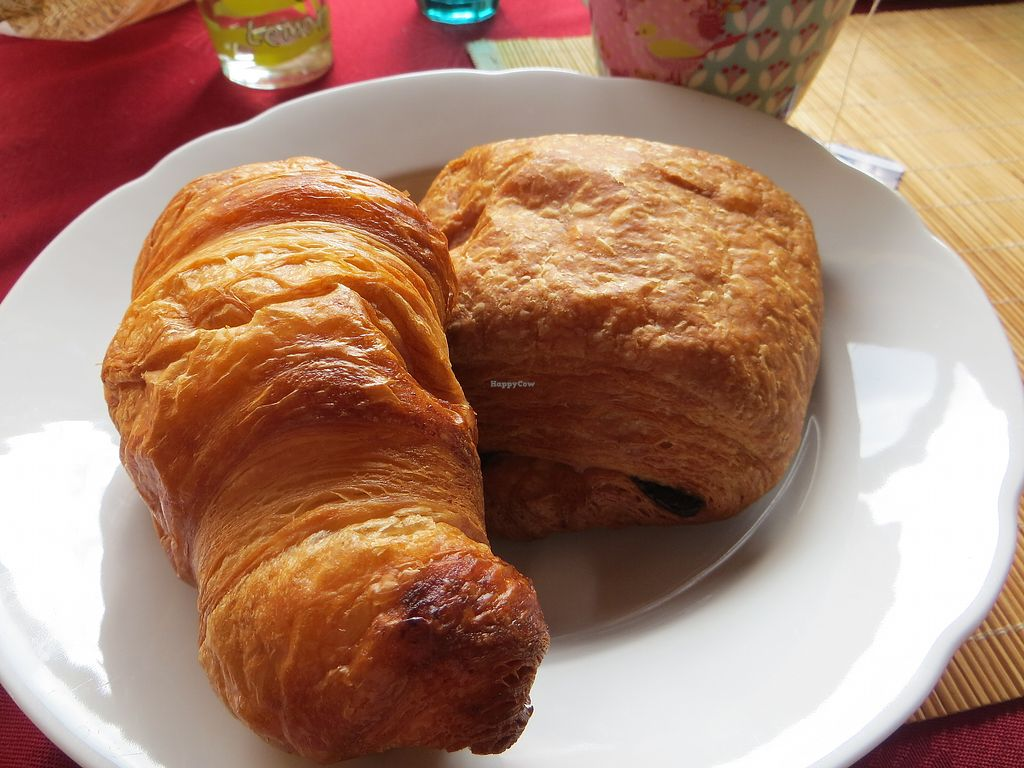"""Photo of Schneider Backshop  by <a href=""""/members/profile/NatalieBlanc"""">NatalieBlanc</a> <br/>Vegan Croissants <br/> July 20, 2017  - <a href='/contact/abuse/image/95754/282514'>Report</a>"""