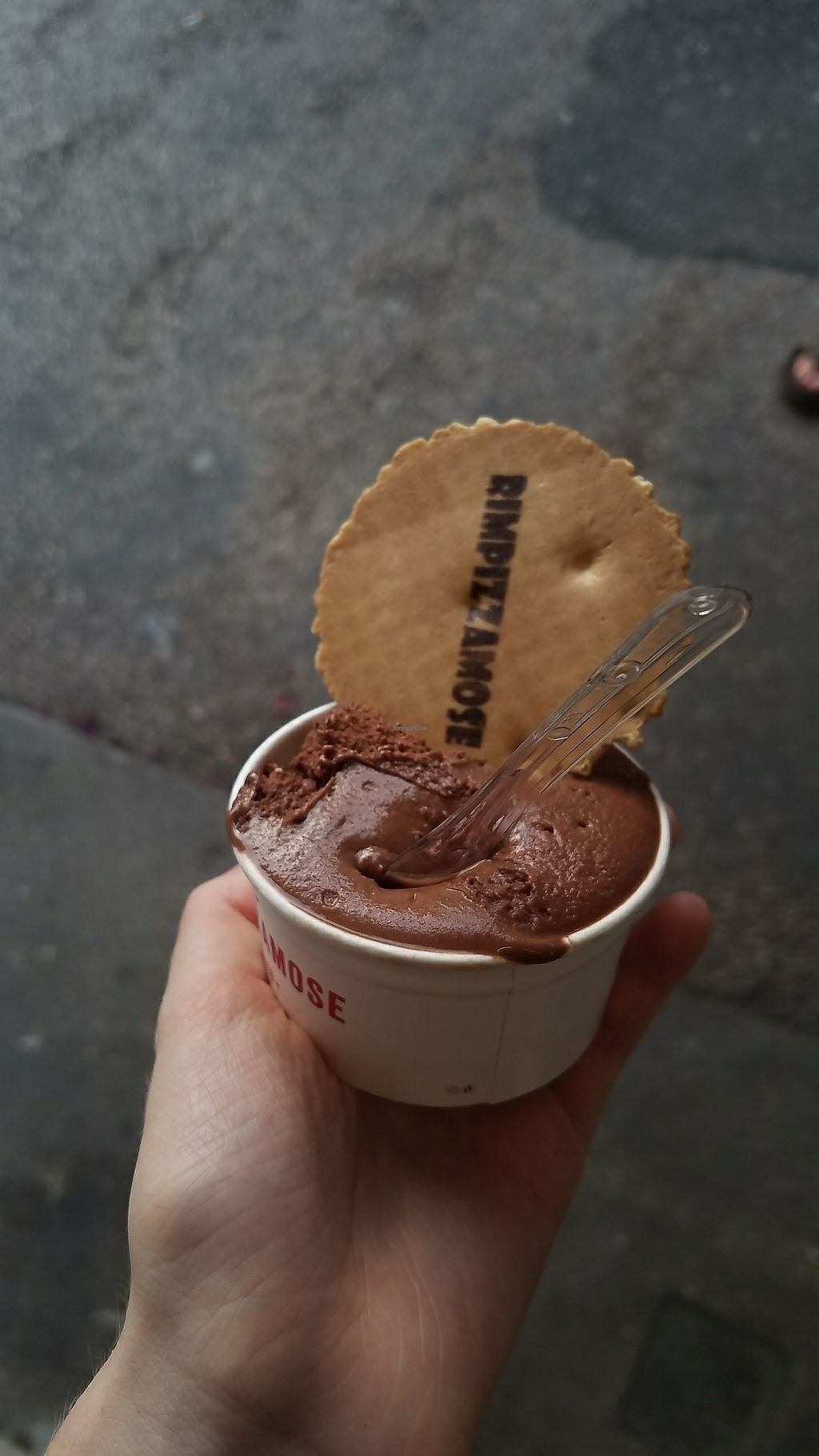 """Photo of Rimpizzamose II Gelato  by <a href=""""/members/profile/rachelgirl8"""">rachelgirl8</a> <br/>chocolate sorbetto <br/> July 9, 2017  - <a href='/contact/abuse/image/95791/278379'>Report</a>"""