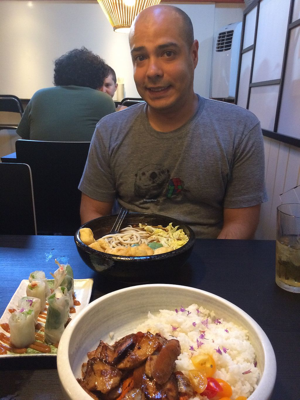 "Photo of Ichiza Kitchen & Tea House  by <a href=""/members/profile/BrittanyHowze"">BrittanyHowze</a> <br/>adobo rice bowl, fox udon noodle bowl, and salad rolls/spring rolls? <br/> August 6, 2017  - <a href='/contact/abuse/image/95823/289935'>Report</a>"