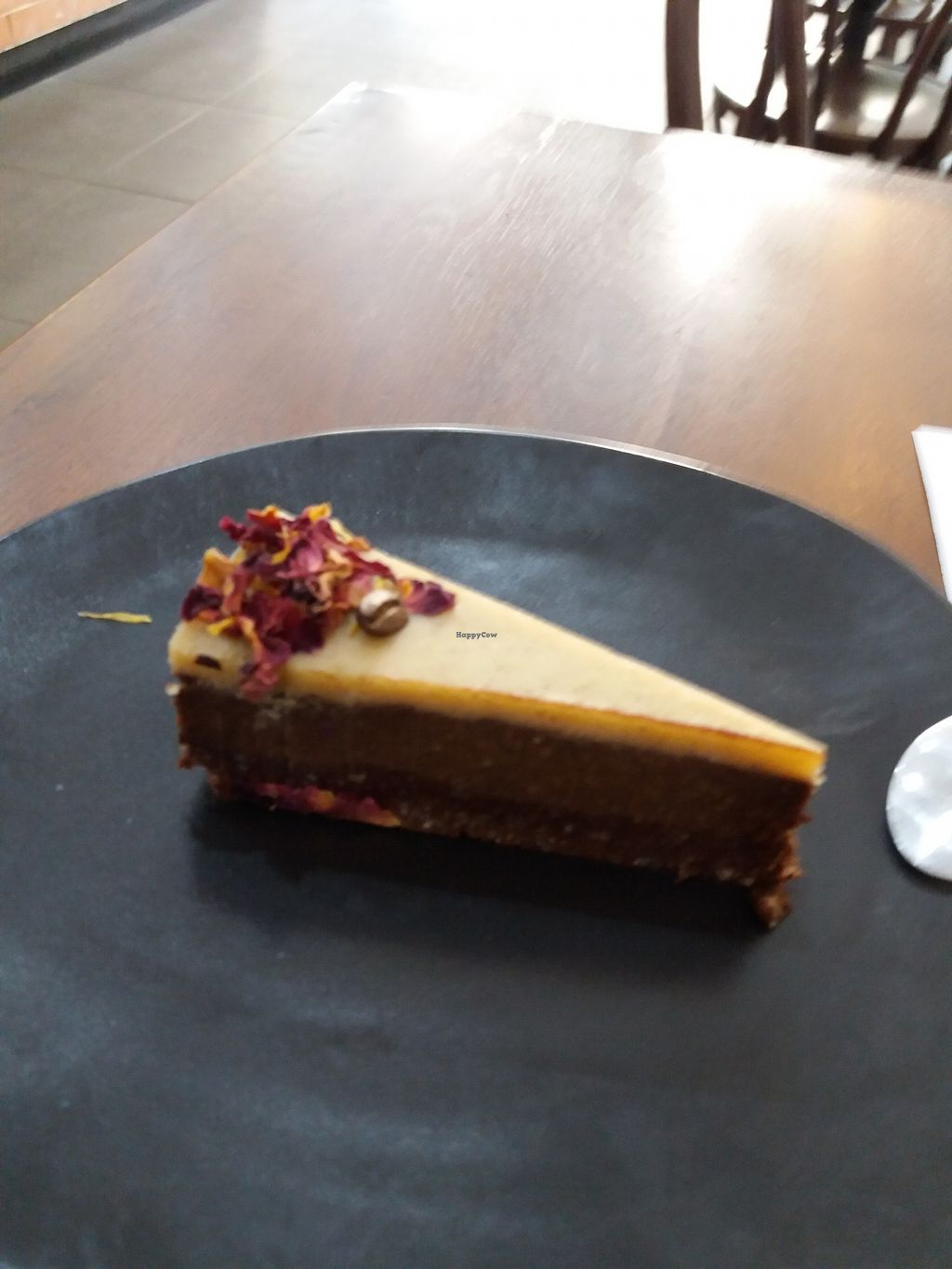 """Photo of Real Grounded  by <a href=""""/members/profile/veganvirtues"""">veganvirtues</a> <br/>Coffee cheese cake <br/> July 22, 2017  - <a href='/contact/abuse/image/95842/283073'>Report</a>"""