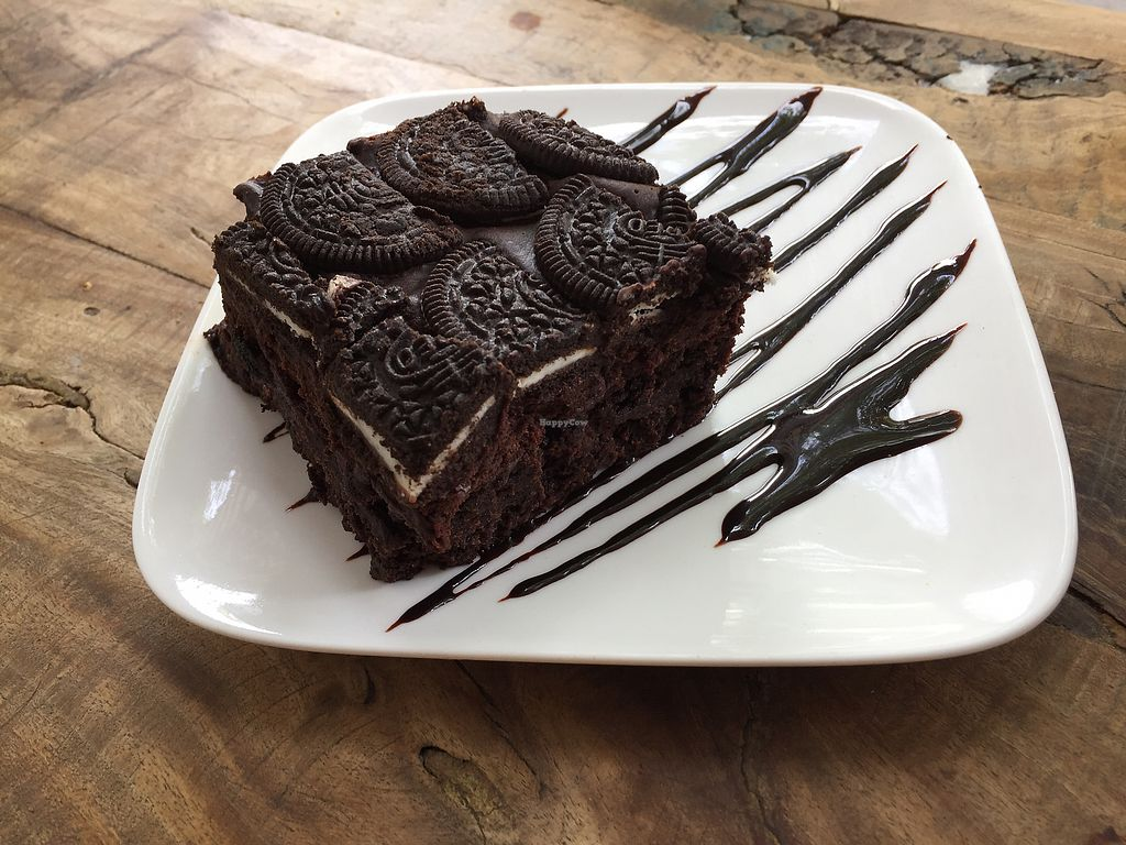 """Photo of Real Grounded  by <a href=""""/members/profile/Wuji_Luiji"""">Wuji_Luiji</a> <br/>Vegan Oreo Brownie  <br/> March 22, 2018  - <a href='/contact/abuse/image/95842/374112'>Report</a>"""