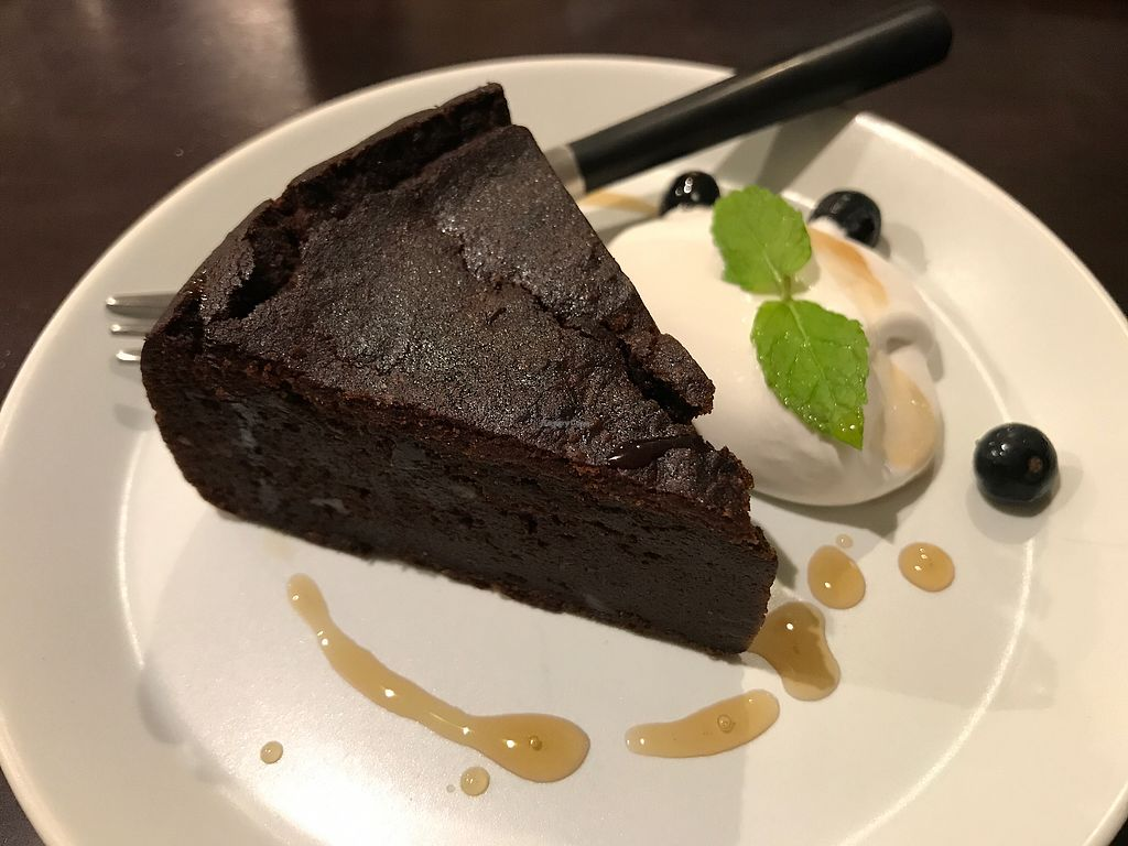 "Photo of Vegi Kitchen Gu Gu  by <a href=""/members/profile/daninhavegan"">daninhavegan</a> <br/>Chocolate cake <br/> September 16, 2017  - <a href='/contact/abuse/image/95858/304891'>Report</a>"