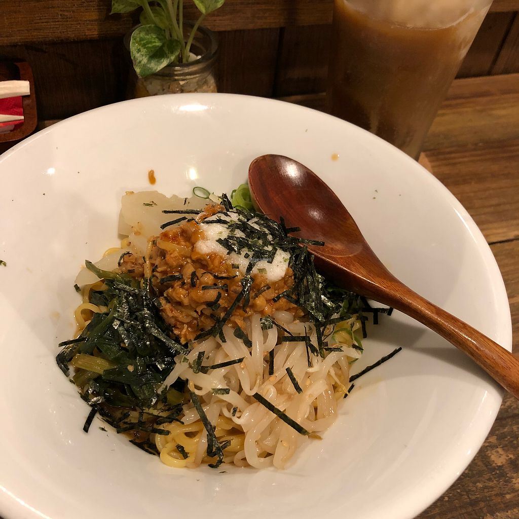 """Photo of Vegi Kitchen Gu Gu  by <a href=""""/members/profile/SimonJohnson"""">SimonJohnson</a> <br/>Vegan soupless hot noodle <br/> March 22, 2018  - <a href='/contact/abuse/image/95858/374125'>Report</a>"""