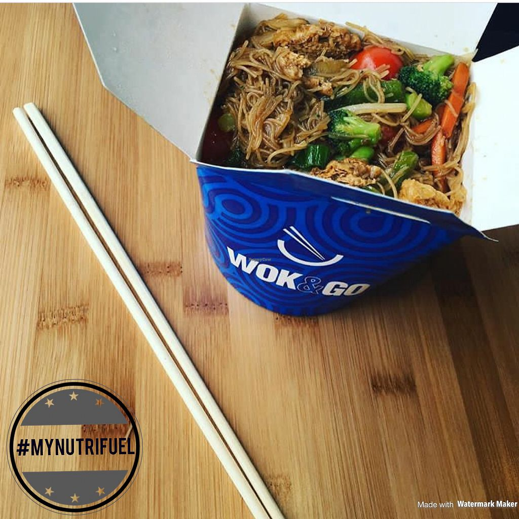 """Photo of CLOSED: Wok&Go  by <a href=""""/members/profile/MyNutriFuel"""">MyNutriFuel</a> <br/>Tofu, veg and gluten free rice noodles  #mynutrifuel <br/> July 10, 2017  - <a href='/contact/abuse/image/95910/278861'>Report</a>"""