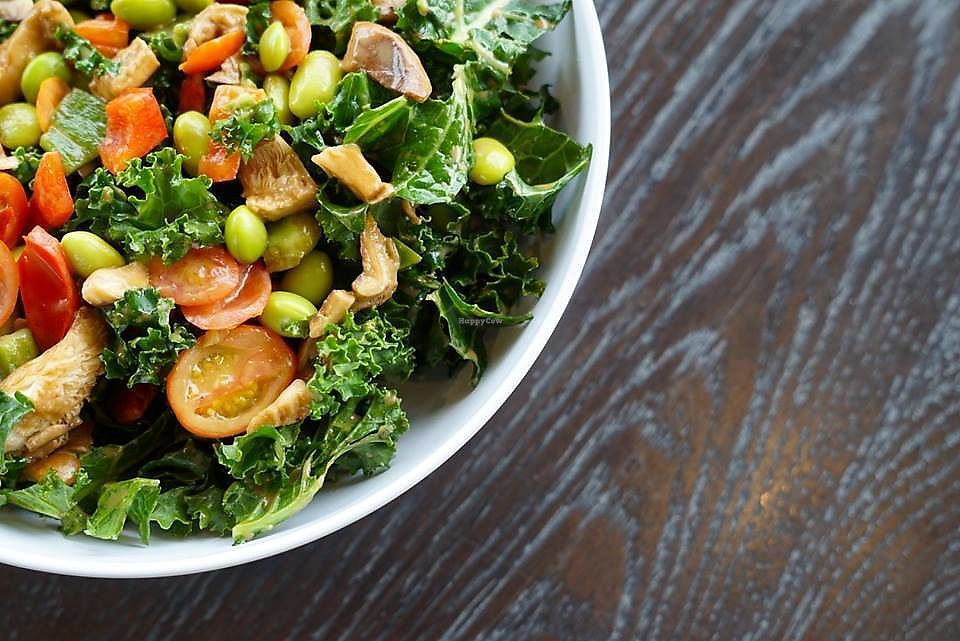 """Photo of CoreLife Eatery  by <a href=""""/members/profile/Paulinepocketfit"""">Paulinepocketfit</a> <br/>Kale Rules!  <br/> September 1, 2017  - <a href='/contact/abuse/image/95950/299750'>Report</a>"""
