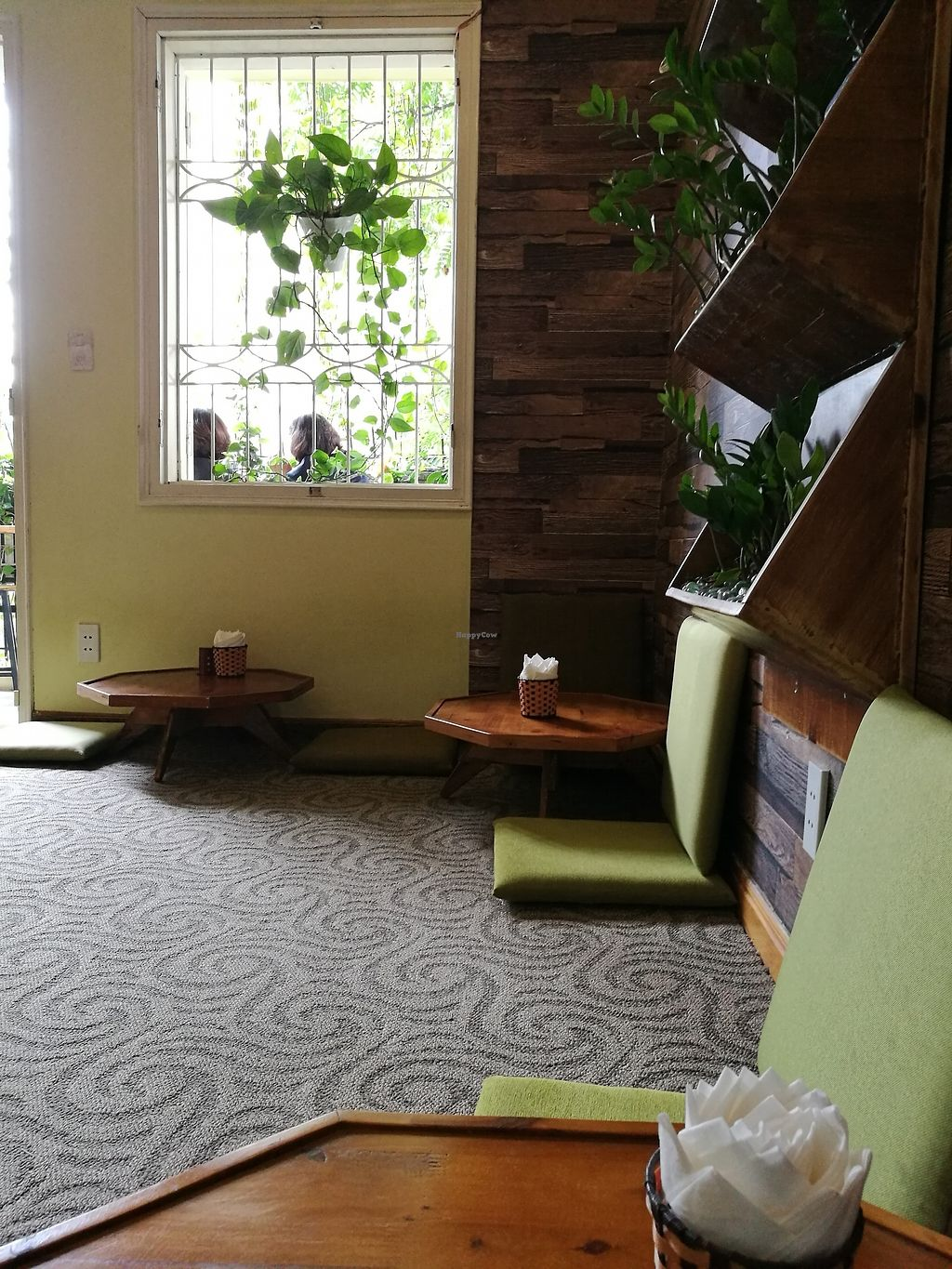 """Photo of Tinh Tam Tra  by <a href=""""/members/profile/VolleyMacaroni"""">VolleyMacaroni</a> <br/>Spacious seating upstairs + beautiful balcony outside <br/> April 5, 2018  - <a href='/contact/abuse/image/95959/380961'>Report</a>"""