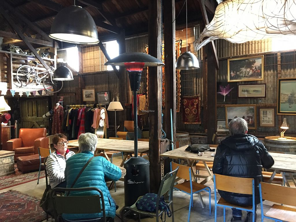 """Photo of The Yard Kitchen  by <a href=""""/members/profile/Tastetesters"""">Tastetesters</a> <br/>Pop-up lunch in the salvage yard, right next to the fab wineshop <br/> October 26, 2017  - <a href='/contact/abuse/image/95961/318989'>Report</a>"""