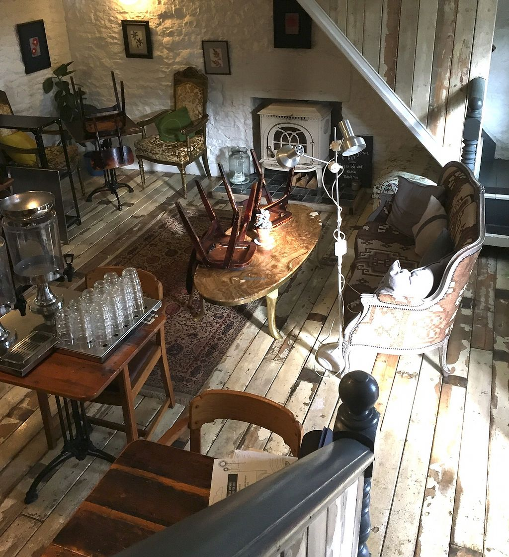 """Photo of The Yard Kitchen  by <a href=""""/members/profile/Tastetesters"""">Tastetesters</a> <br/>The restaurant was being changed around a bit when we went, but you get the idea. They make everything themselves <br/> October 26, 2017  - <a href='/contact/abuse/image/95961/318990'>Report</a>"""