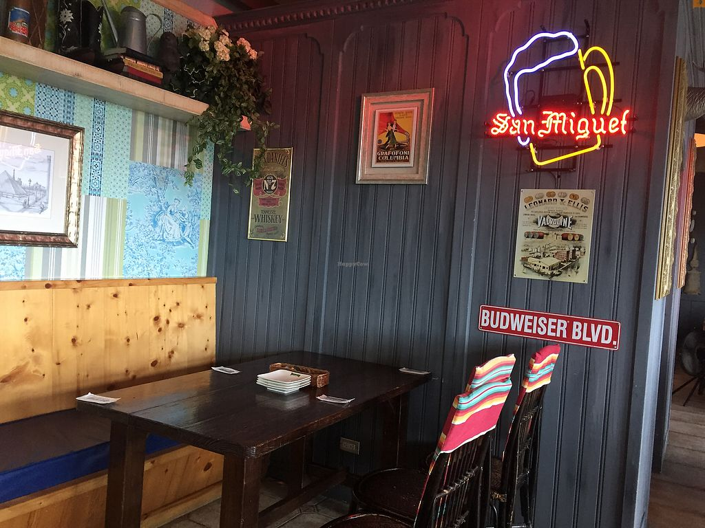 """Photo of Smokey Joe's  by <a href=""""/members/profile/HaileyPoLa"""">HaileyPoLa</a> <br/>Indoor seating  <br/> July 12, 2017  - <a href='/contact/abuse/image/95983/279362'>Report</a>"""