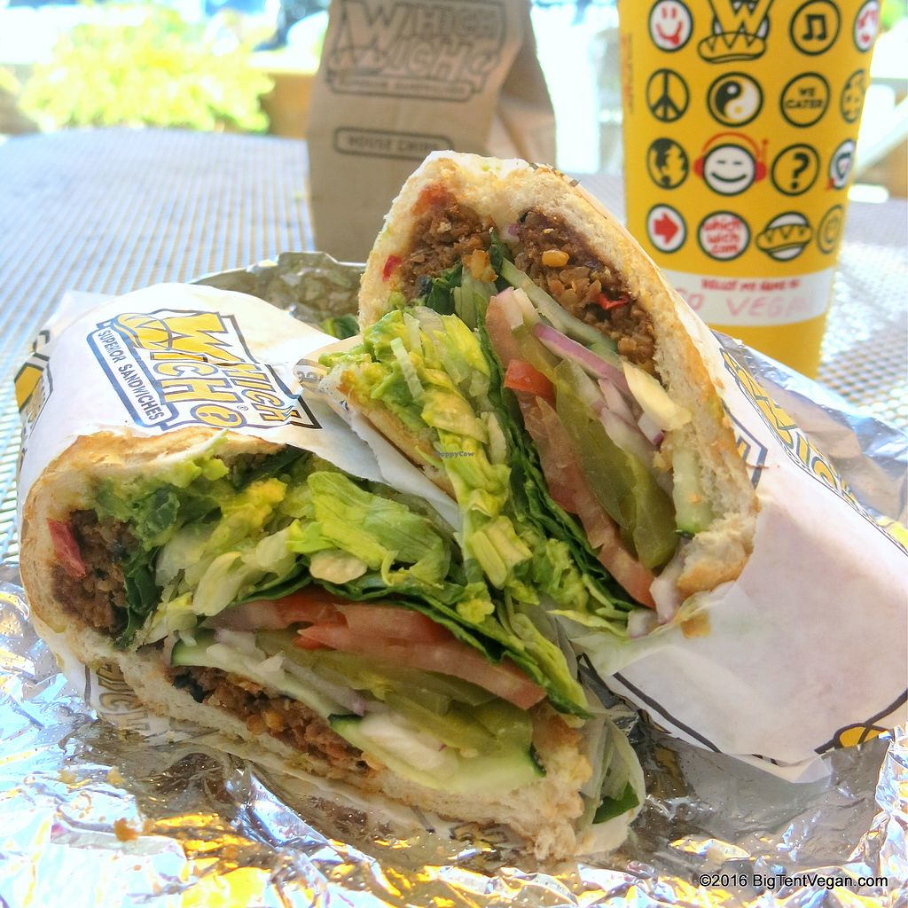"""Photo of Which Wich  by <a href=""""/members/profile/renee.duquette"""">renee.duquette</a> <br/>black bean sandwich  <br/> July 17, 2017  - <a href='/contact/abuse/image/95995/281540'>Report</a>"""