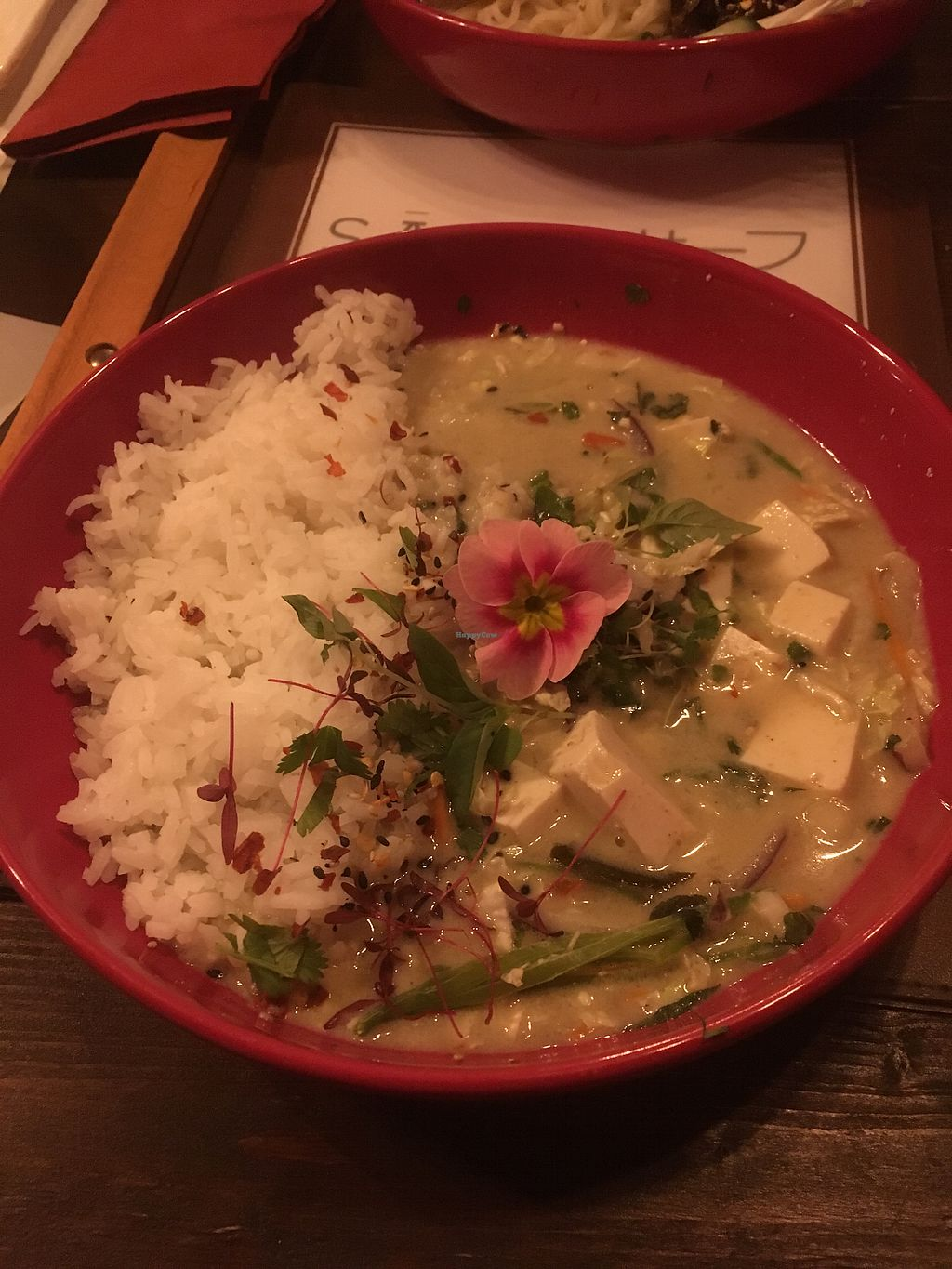 """Photo of Safu  by <a href=""""/members/profile/Spud_Taylor"""">Spud_Taylor</a> <br/>Vegan Thai Green Curry <br/> February 14, 2018  - <a href='/contact/abuse/image/96010/359479'>Report</a>"""