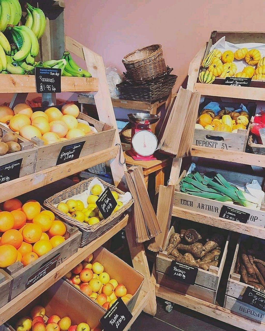 """Photo of Loch Arthur Farm Shop Cafe and Bakery  by <a href=""""/members/profile/craigmc"""">craigmc</a> <br/>more organic <br/> March 29, 2018  - <a href='/contact/abuse/image/96023/377960'>Report</a>"""