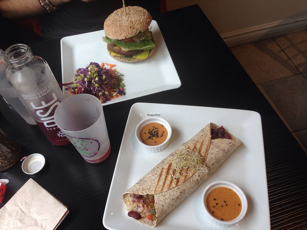 """Photo of NESS  by <a href=""""/members/profile/doitforthemermaids"""">doitforthemermaids</a> <br/>Burrito et burger vegan <br/> October 11, 2017  - <a href='/contact/abuse/image/96058/314339'>Report</a>"""