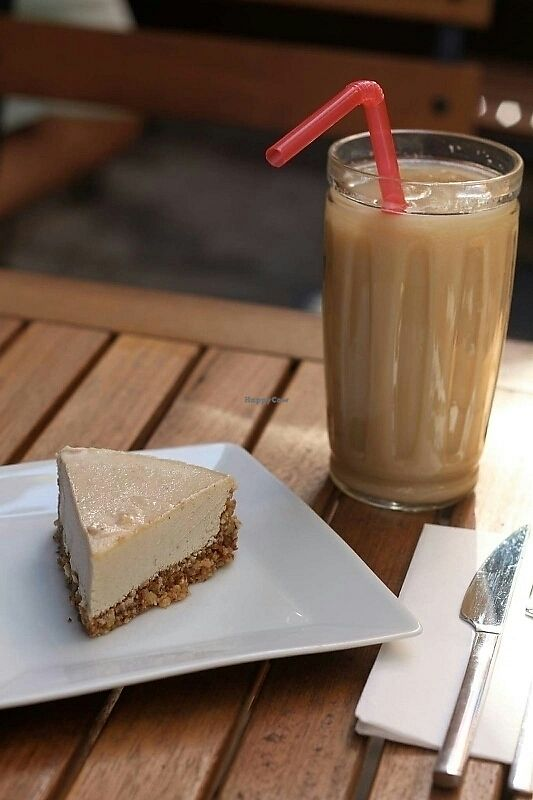 "Photo of Entropi Cafe  by <a href=""/members/profile/alara"">alara</a> <br/>vegan cashew cake  <br/> July 26, 2017  - <a href='/contact/abuse/image/96066/285216'>Report</a>"
