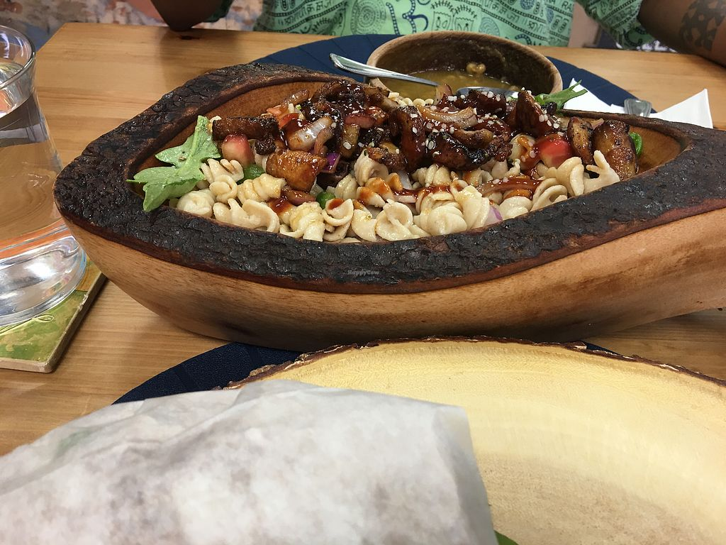 "Photo of Blueberry Cafe  by <a href=""/members/profile/ZeowehTarr"">ZeowehTarr</a> <br/>Kamut Pasta with mushrooms  <br/> August 26, 2017  - <a href='/contact/abuse/image/96075/297448'>Report</a>"