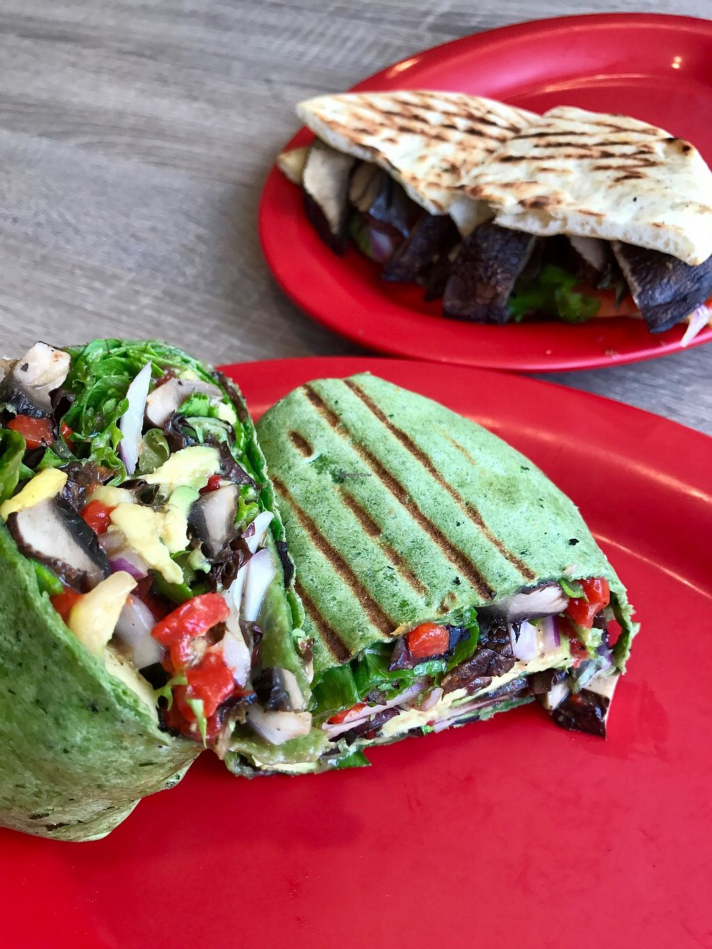 """Photo of Doc Green's  by <a href=""""/members/profile/melissapedroso"""">melissapedroso</a> <br/>Grilled veggie wrap <br/> July 12, 2017  - <a href='/contact/abuse/image/96076/279635'>Report</a>"""