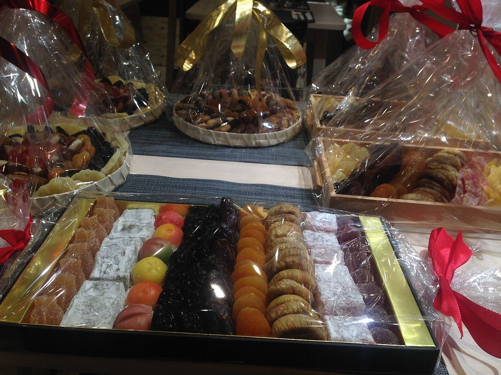"Photo of Traiteur Le Cedre  by <a href=""/members/profile/Alexvegannnnn"">Alexvegannnnn</a> <br/>dry fruits packs for christmas  <br/> December 18, 2017  - <a href='/contact/abuse/image/96077/336798'>Report</a>"
